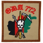 Patch, Operational Detachment Alpha (ODA) 772, Desert