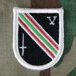 Beret Flash, 5th Special Forces Group (Airborne) Afghanistan Task Force Dagger