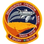 Patch, STS-51G Space Shuttle Discovery