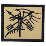 Patch, Operational Detachment Alpha (ODA) 594, Type 2, Desert - Black