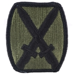 Patch, 10th Mountain Division, without Mountain Tab, Color