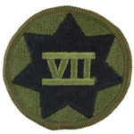 Patch, 7th Corps, Color