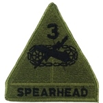 Patch, 3rd Armored Division, Color