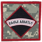 Patch, 101st Airborne Division With Tab, Color, One Piece
