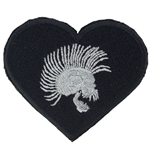 Helmet Patch, 2nd Brigade Combat Team, 101st Airborne Division, 502nd Infantry, Black Type 1