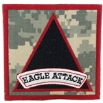"Patch, 3rd Battalion, 101st Aviation Regiment ""Eagle Attack"", ACU"