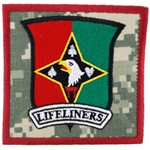 "Patch, 101st Sustainment Brigade ""Life Liners"", Type 2, ACU"
