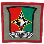 "Patch, 101st Sustainment Brigade ""Life Liners"", Type 2, Foliage Green"