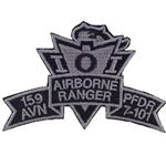 Patch, 159th Aviation Brigade, PFDR, 7th Battalion, 101st Aviation Regiment, ACU, Small New Type