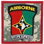 "Patch, 58th Signal Company, ""Spartans"", Type 1, ACU"