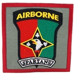 "Patch, 58th Signal Company, ""Spartans"", Type 1, Foliage Green"