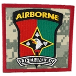 "Patch, 101st Airborne Division Sustainment Brigade ""Lifeliners"", Type 1, ACU"
