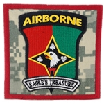 "Patch, 101st Finance Battalion, ""Eagle's Treasure"", Type 1, ACU"