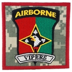 "Patch, 101st Human Resource Company, ""Vipers"", Type 1, ACU"