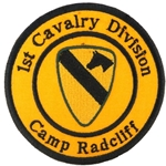 Patch, 1st Cavalry Division, Camp Radcliff