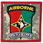 "Patch, 2nd Battalion 44th Air Defense Artillery Regiment, ""Strike Fear"", Type 1, ACU"