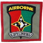 "Patch, 101st Airborne Division Sustainment Brigade ""Lifeliners"", Type 1, Foliage Green"