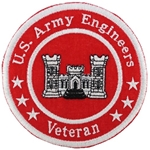 "Patch, Branch Of Service Veteran ""Corps of Engineers"""