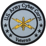 "Patch, Branch Of Service Veteran ""Cyber Corps"""