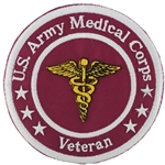 "Patch, Branch Of Service Veteran ""Medical Corps"""