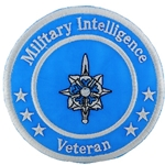"Patch, Branch Of Service Veteran ""Military Intelligence"""