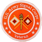 "Patch, Branch Of Service Veteran ""Signal Corps"""