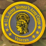 "Patch, Branch Of Service Veteran ""Women's Army Corps"""