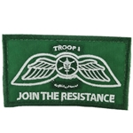 Patch, JEDBURGH Team, 4th Battalion, 5th Special Forces Group (Airborne), Green