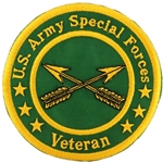 "Patch, Branch Of Service Veteran ""Special Forces"""