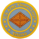 "Patch, Branch Of Service Veteran ""Finance Corps"""