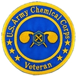"Patch, Branch Of Service Veteran ""Chemical Corps"""