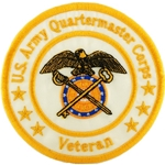 "Patch, Branch Of Service Veteran ""Quartermaster Corps"""