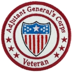 "Patch, Branch Of Service Veteran ""Adjutant General's Corps"""
