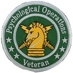 "Patch, Branch Of Service Veteran ""Psychological Operations"""