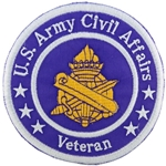 "Patch, Branch Of Service Veteran ""Civil Affairs"""