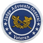 "Patch, Branch Of Service Veteran ""Judge Advocate General"""