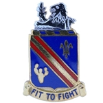 DUI, 152nd Infantry Regiment, Motto, FIT TO FIGHT