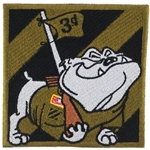 Patch, 3rd Infantry Division, Rocky the Bulldog, OCP