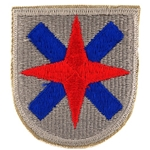 Patch, 24th Corps, Color, Cut Edge