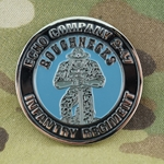 Challenge Coin, 2nd Battalion, 327th Infantry Regiment No Slack