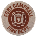 Patch, Fort Campbell Fire Department Desert