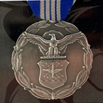 Decoration (Regular Size), Civilian Achievement Medal, U.S. Air Force