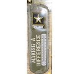 Military Metal Thermometers, Official Licensed Product of the U.S. Army, Type 1