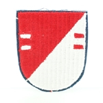Beret Flash, 2nd Squadron (Airborne), 17th Cavalry Regiment, Cut Edge