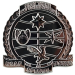 Pathfinder Badge Subdued Black Metal