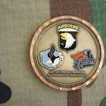 Challenge Coin, HHC 501st Special Troops Battalion, 101st Airborne Division (Air Assault)