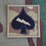 Helmet Patch, Company C, Signal, Special Troops Battalion, 4th Brigade Combat Team, 506th Infantry Regiment, MultiCam®