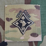 Helmet Patch, 129th Combat Sustainment Support Battalion, MultiCam®