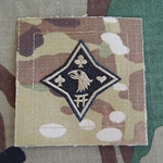 Helmet Patch, 101st Sustainment Brigade, MultiCam®