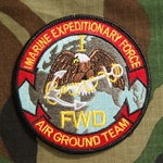 Patch, I Marine Expeditionary Force (Forward), Color